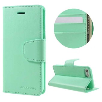 Image of   iphone 7/8 Goospery] SONATA DIARY CASE Wallet Card - Mint Grøn / under updatering